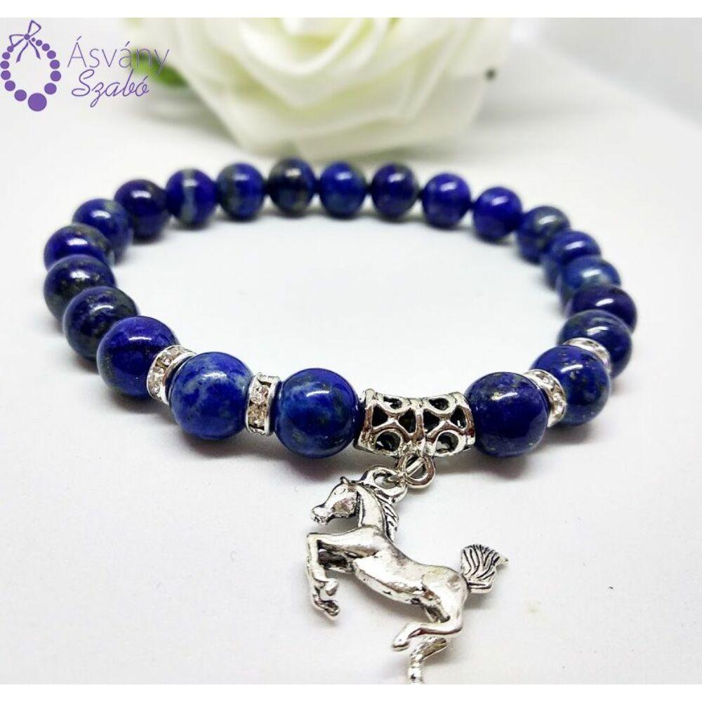 Lápisz lazuli (lazurit) karkötő